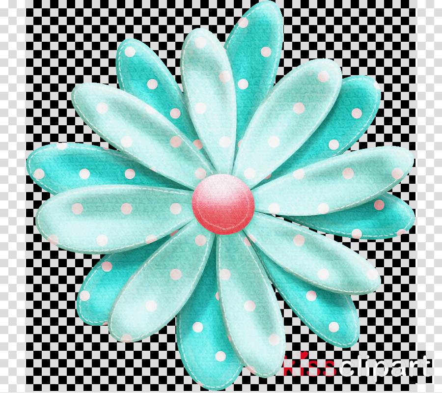 aqua blue turquoise petal pattern