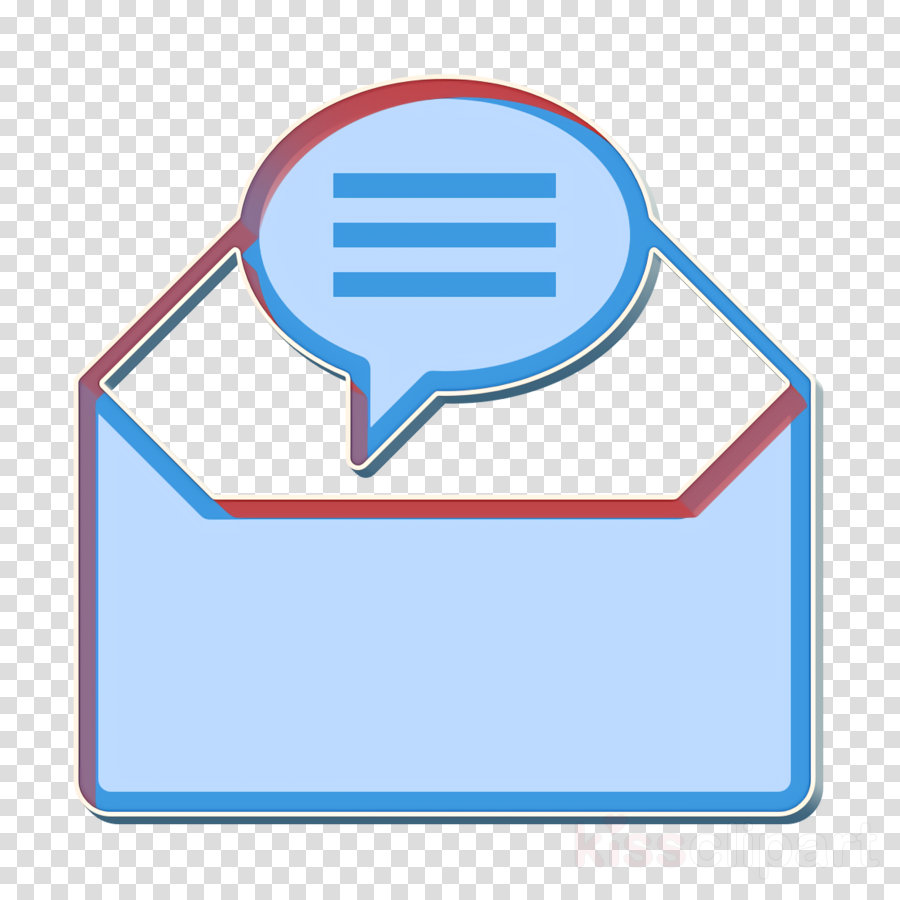 Contact And Message icon Email icon Mail icon