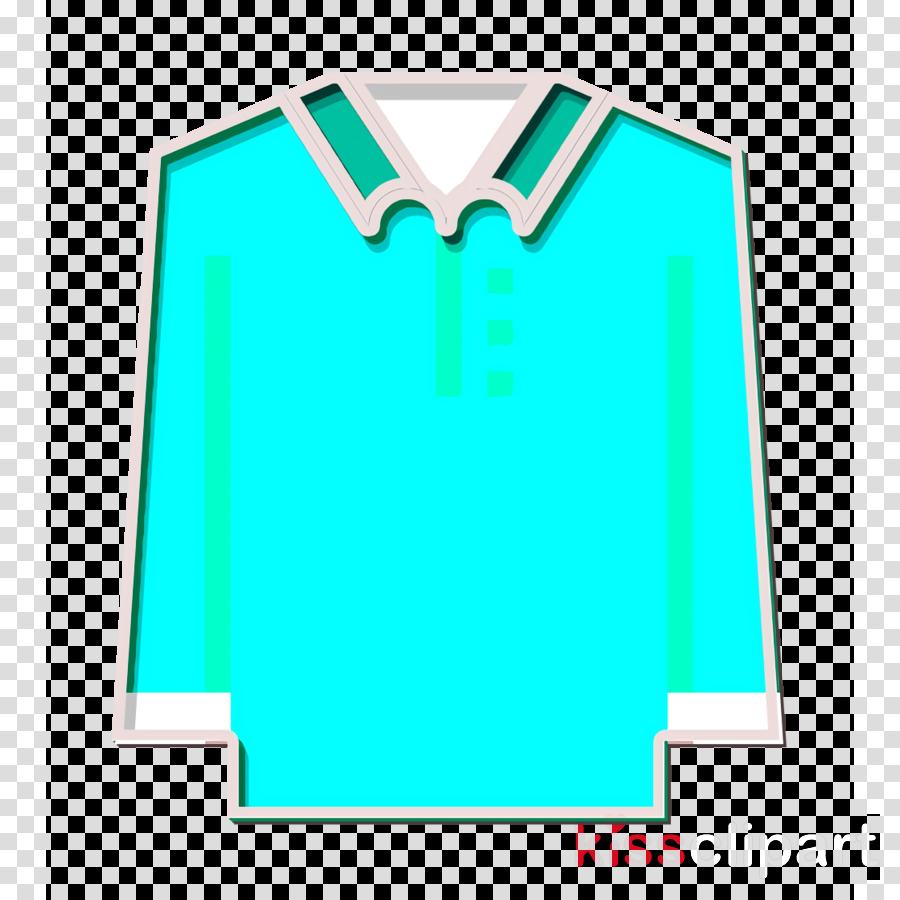 Clothes icon Polo shirt icon Long sleeve icon