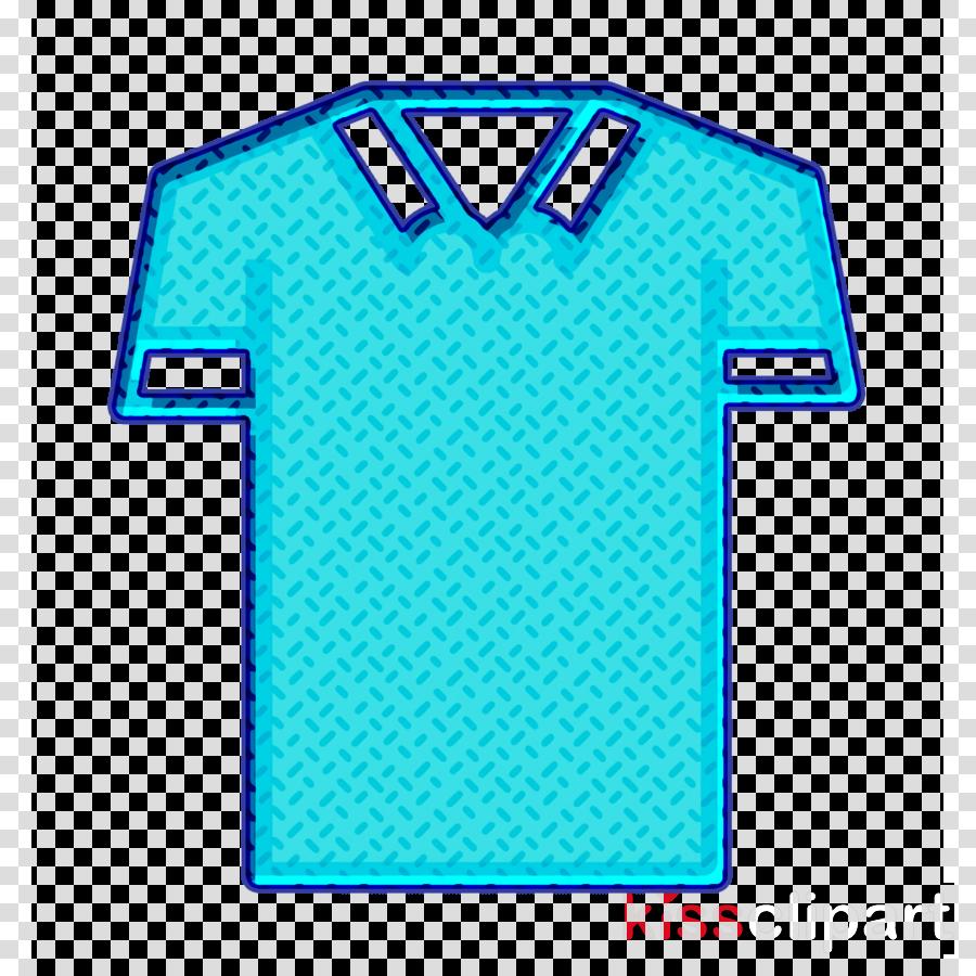 Polo shirt icon Clothes icon