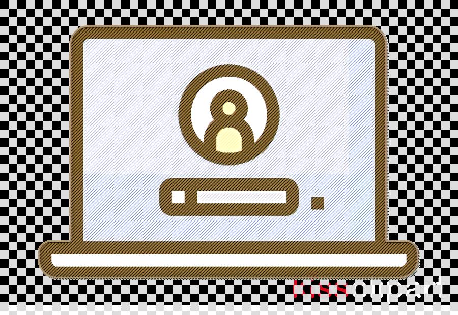 Laptop icon Workday icon Login icon