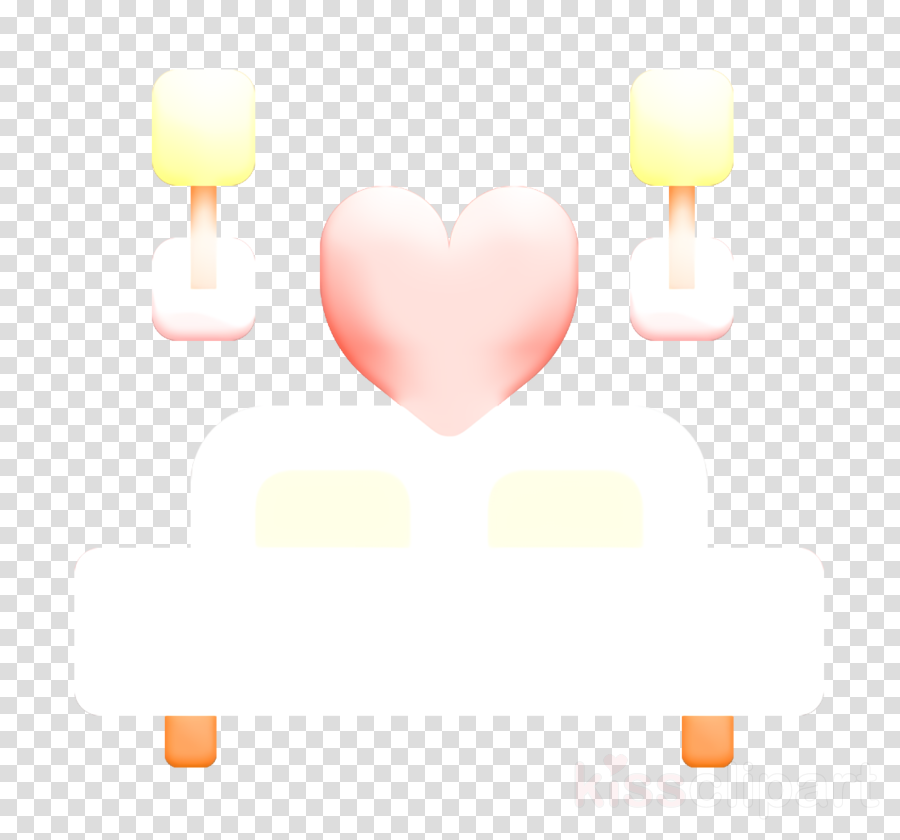 Bed icon Wedding icon