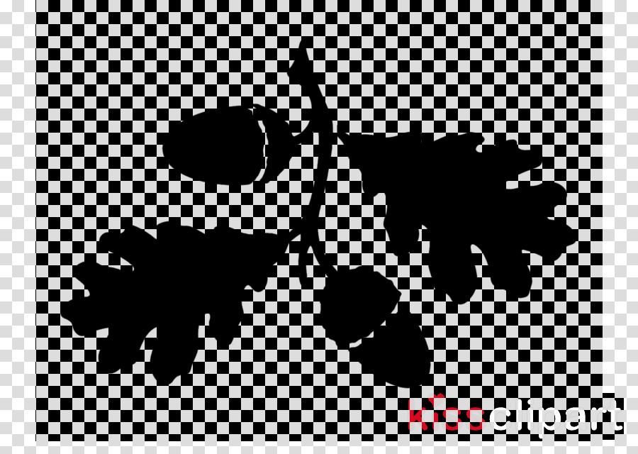 leaf black-and-white tree plant font