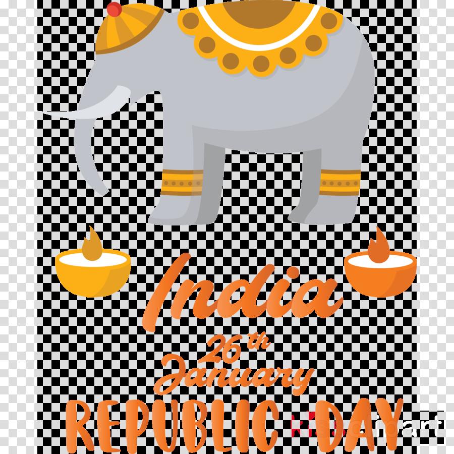 India Republic Day India Elephant 26 January
