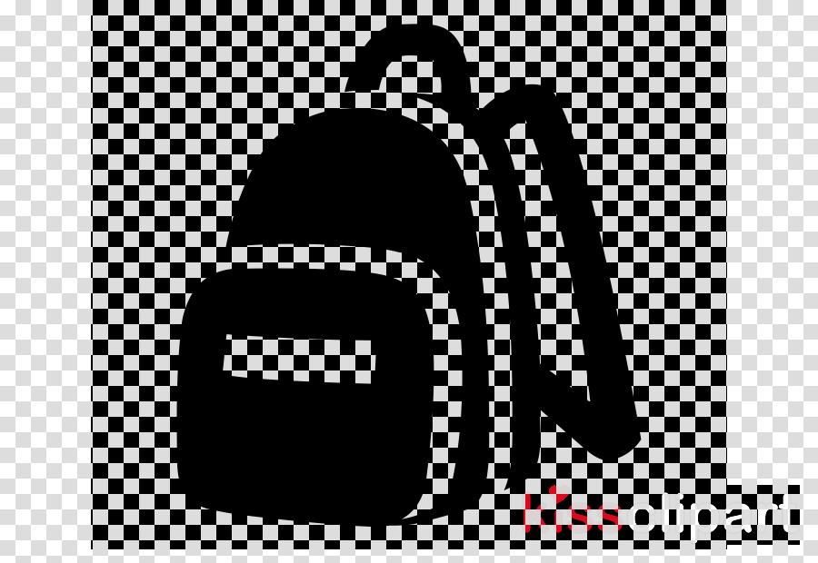 logo font symbol black-and-white bag