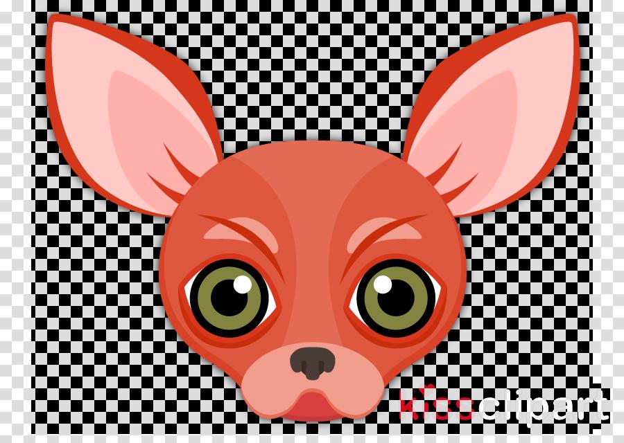 cartoon snout chihuahua ear fawn