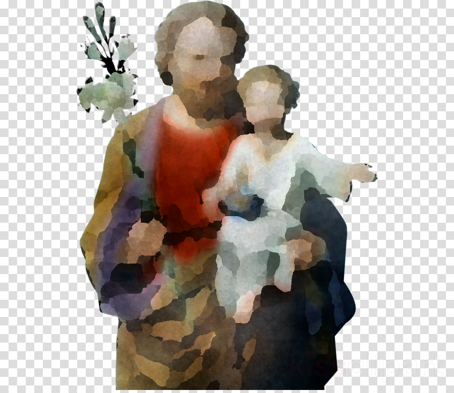 figurine watercolor paint mother