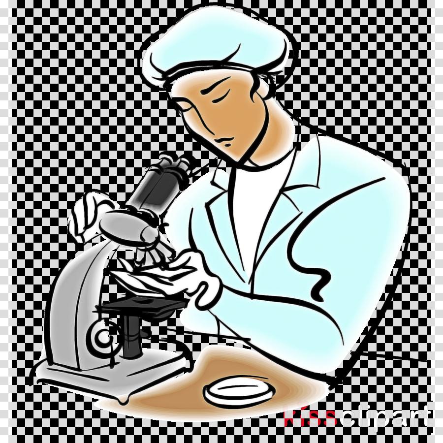 cartoon physician line art sitting job