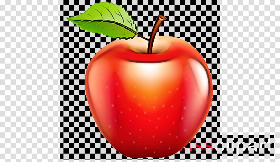natural foods fruit leaf apple red