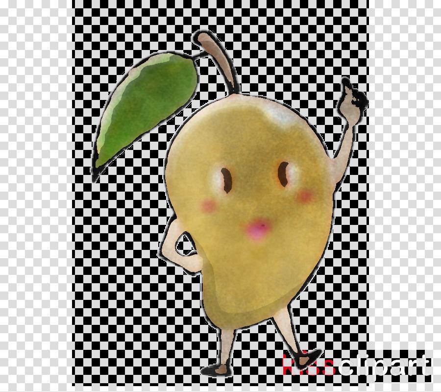 cartoon fruit plant banana food