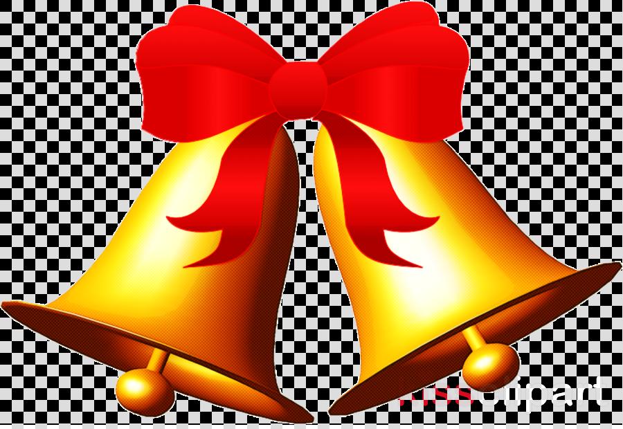 bell handbell ribbon
