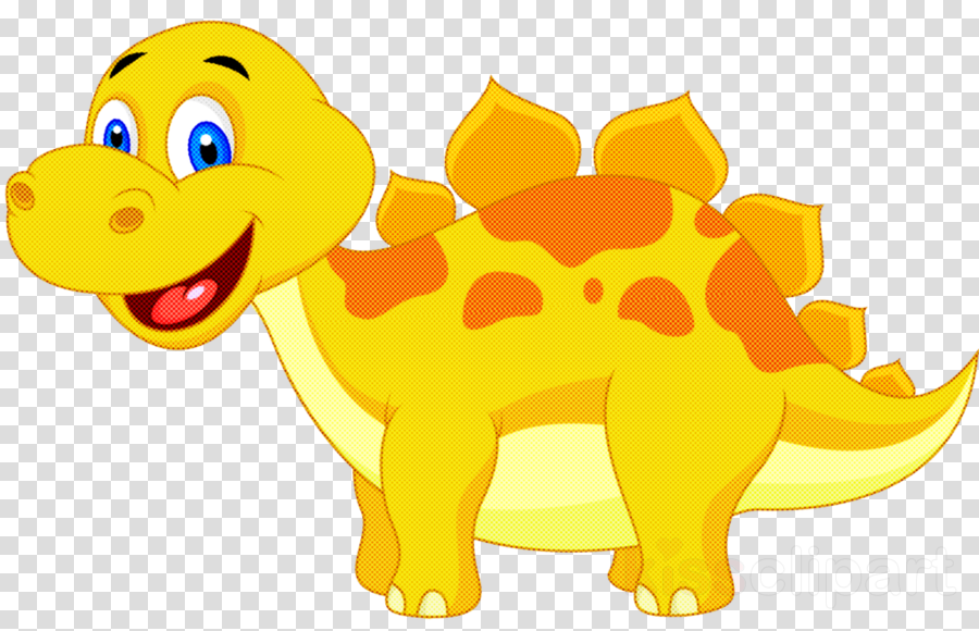 cartoon yellow puppy sporting group animal figure