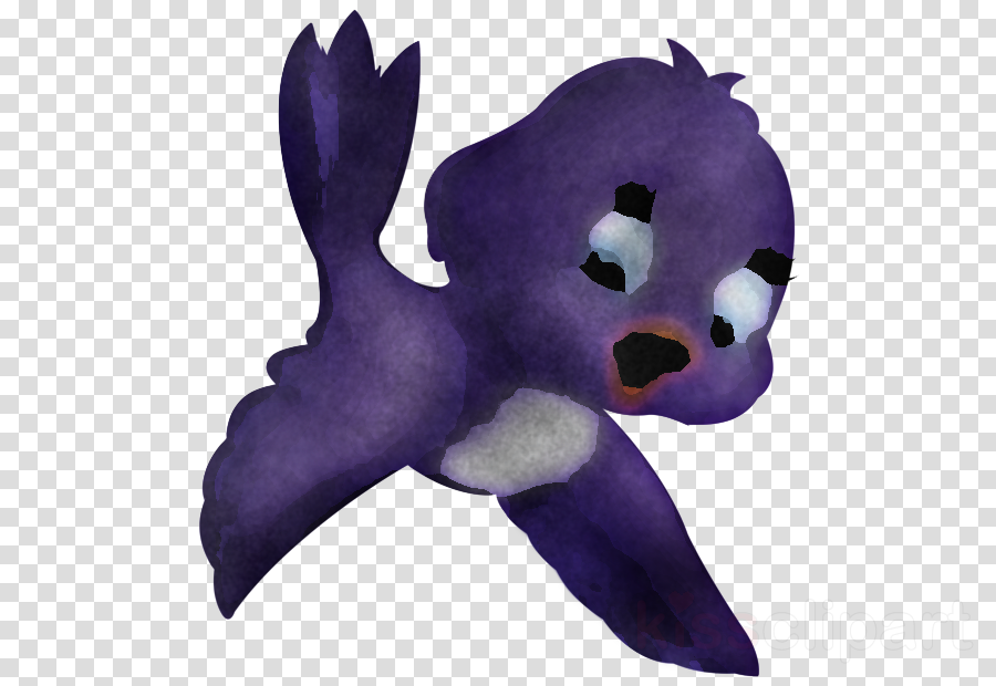 stuffed toy plush violet purple toy