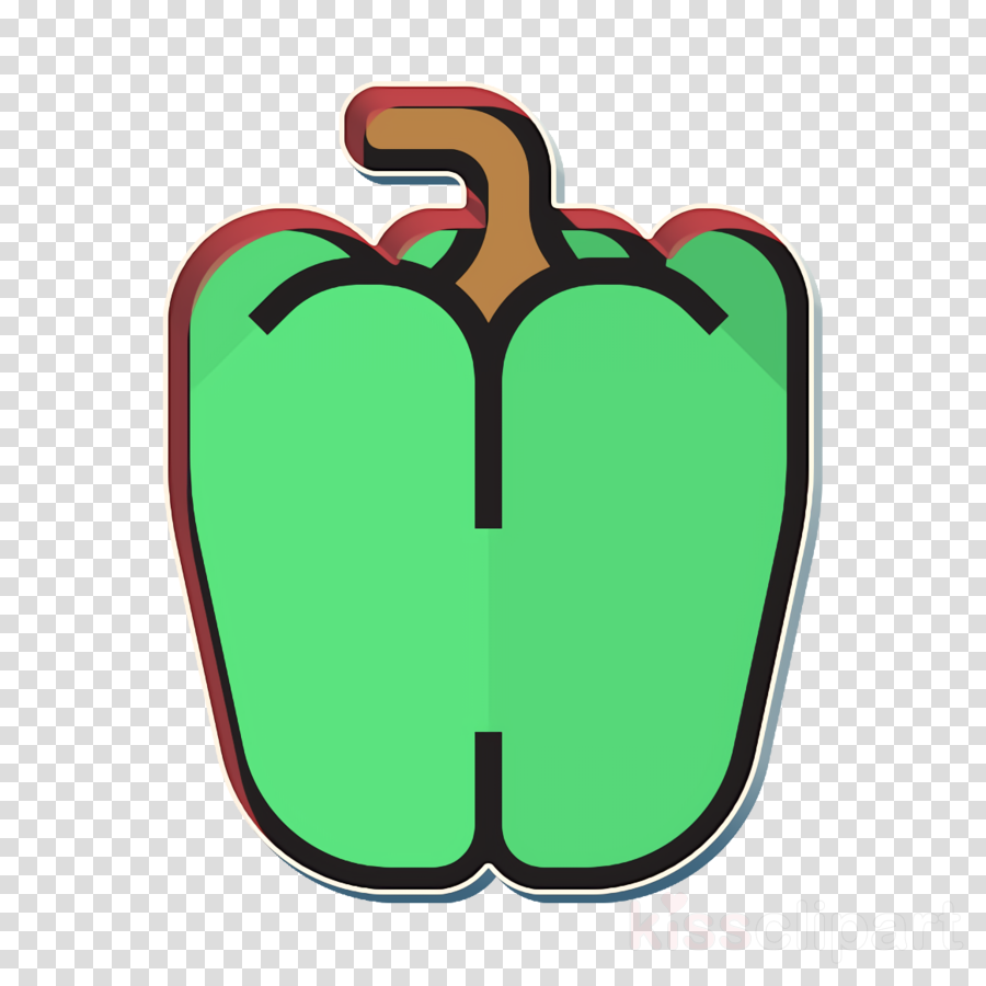 Fruit and Vegetable icon Pepper icon