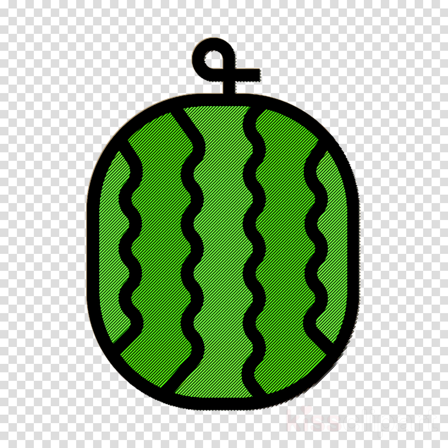 Fruit and Vegetable icon Watermelon icon