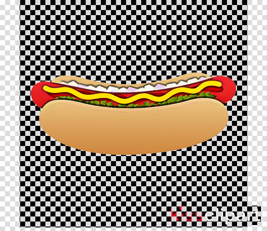 fast food sausage yellow hot dog bratwurst