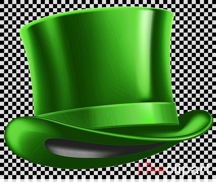 green symbol plastic costume hat
