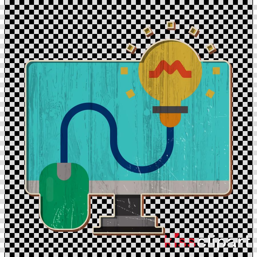 Startup icon Lightbulb icon Laptop icon