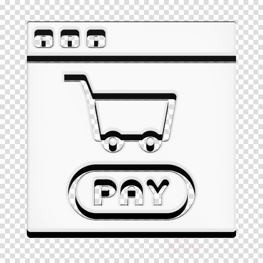 Shopping cart icon Shipping and delivery icon Payment icon