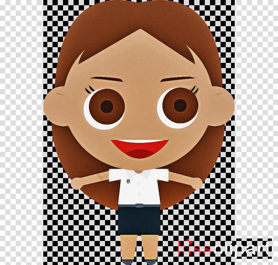 cartoon animation gesture smile mascot