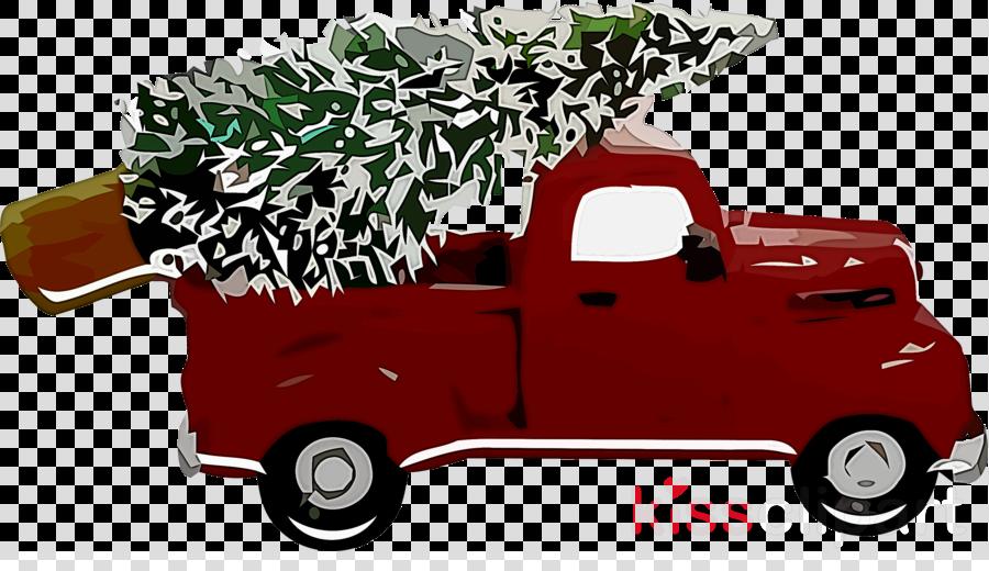 Christmas Tree Car