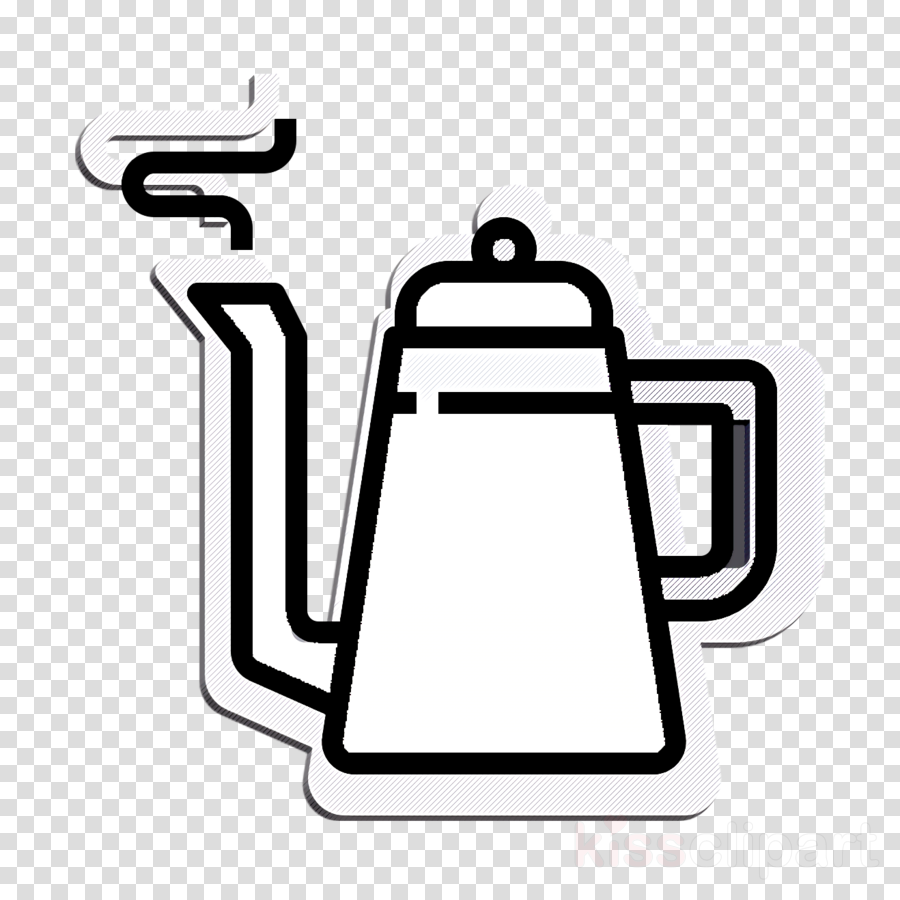 Kettle icon Coffee Shop icon Food and restaurant icon