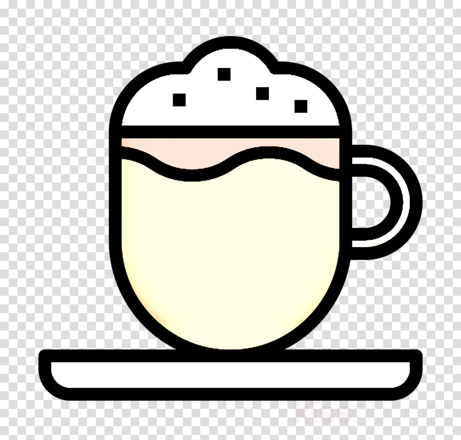 Food and restaurant icon Cappuccino icon Coffee Shop icon