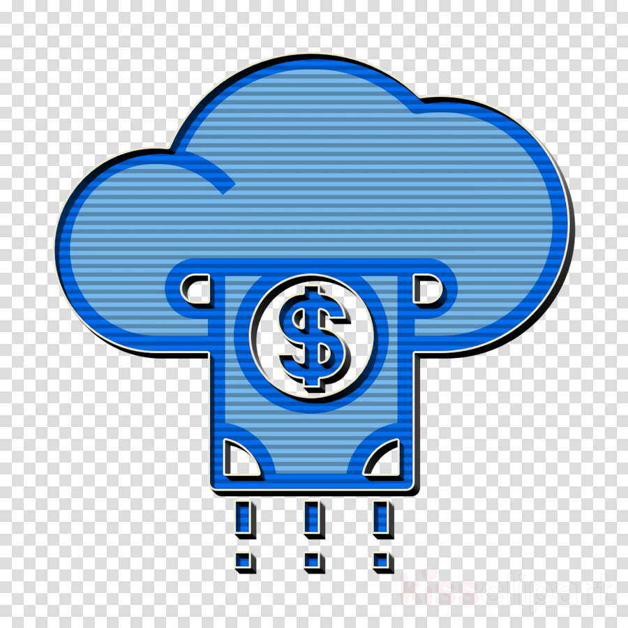 Cloud icon Business and finance icon Payment icon