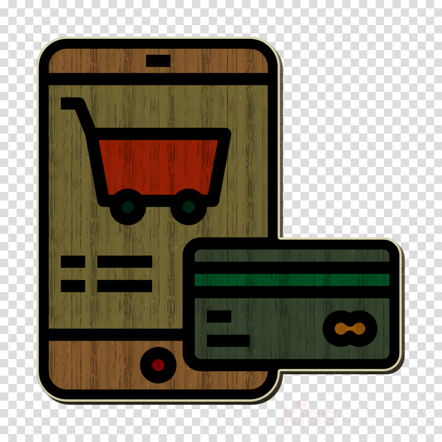 Business and finance icon Shopping cart icon Payment icon