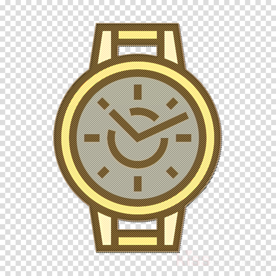 Time and date icon Wristwatch icon Watch icon