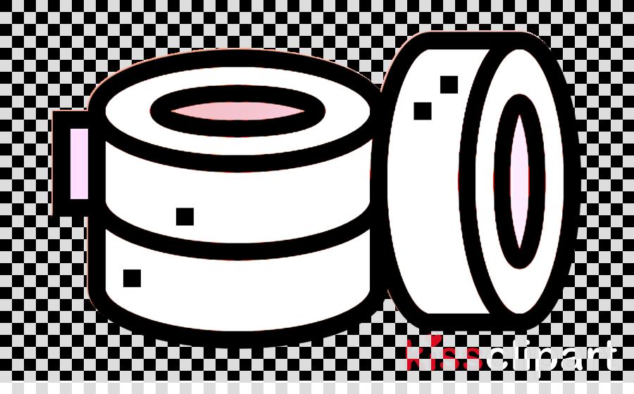 Adhesive tape icon Tattoo icon Tape icon