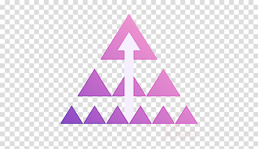 triangle line pink triangle pattern