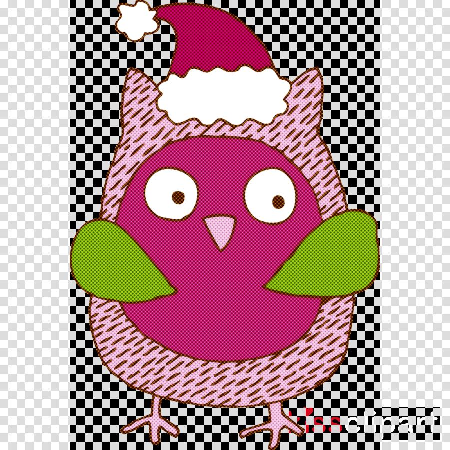 cartoon pink purple bird magenta