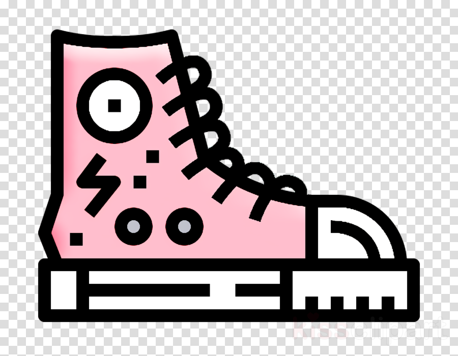 Sneakers icon Punk Rock icon Rock icon