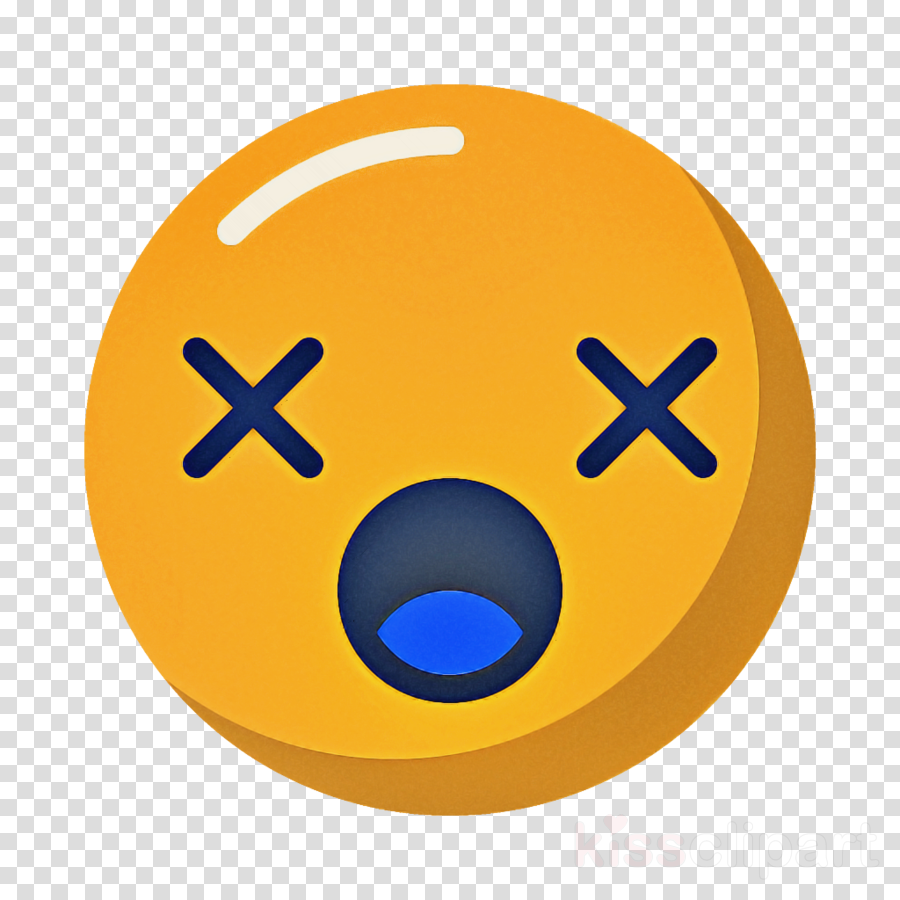 smiley dead Emoticon emotion icon