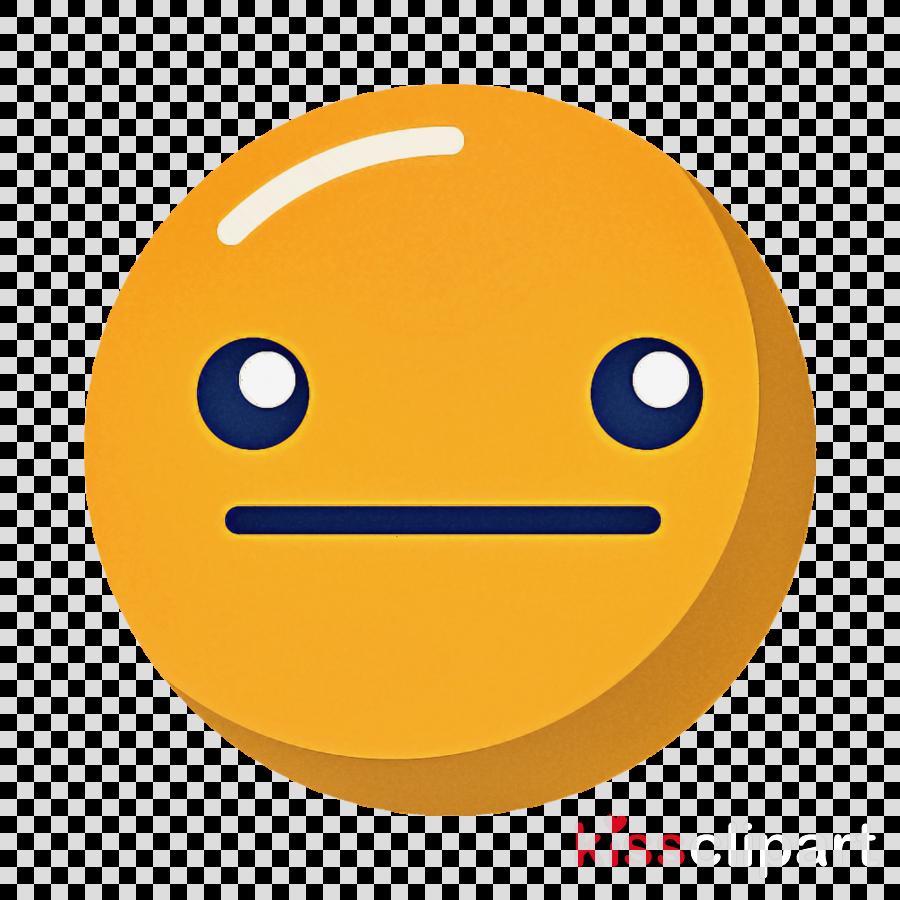 smiley neutral face Emoticon emotion icon