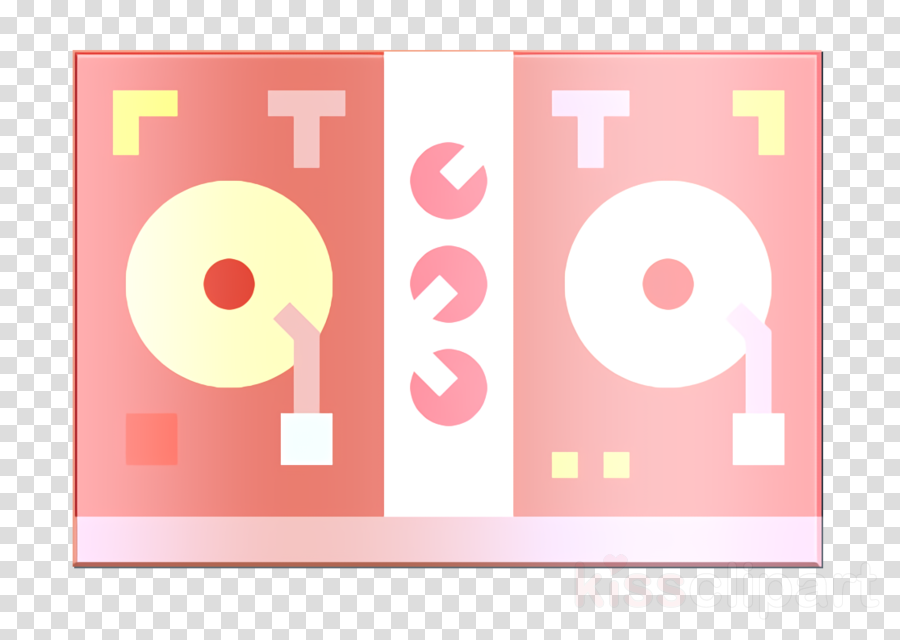 Disc jockey icon Prom Night icon Music and multimedia icon