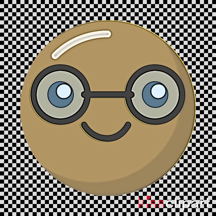 smiley nerd Emoticon emotion icon