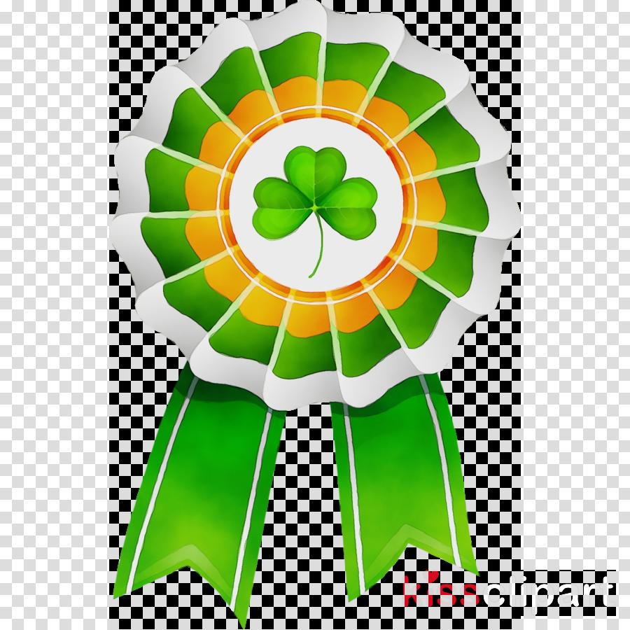 green symbol petal