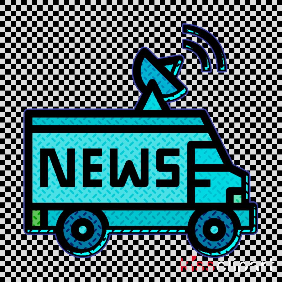 Broadcast icon Newspaper icon Truck icon