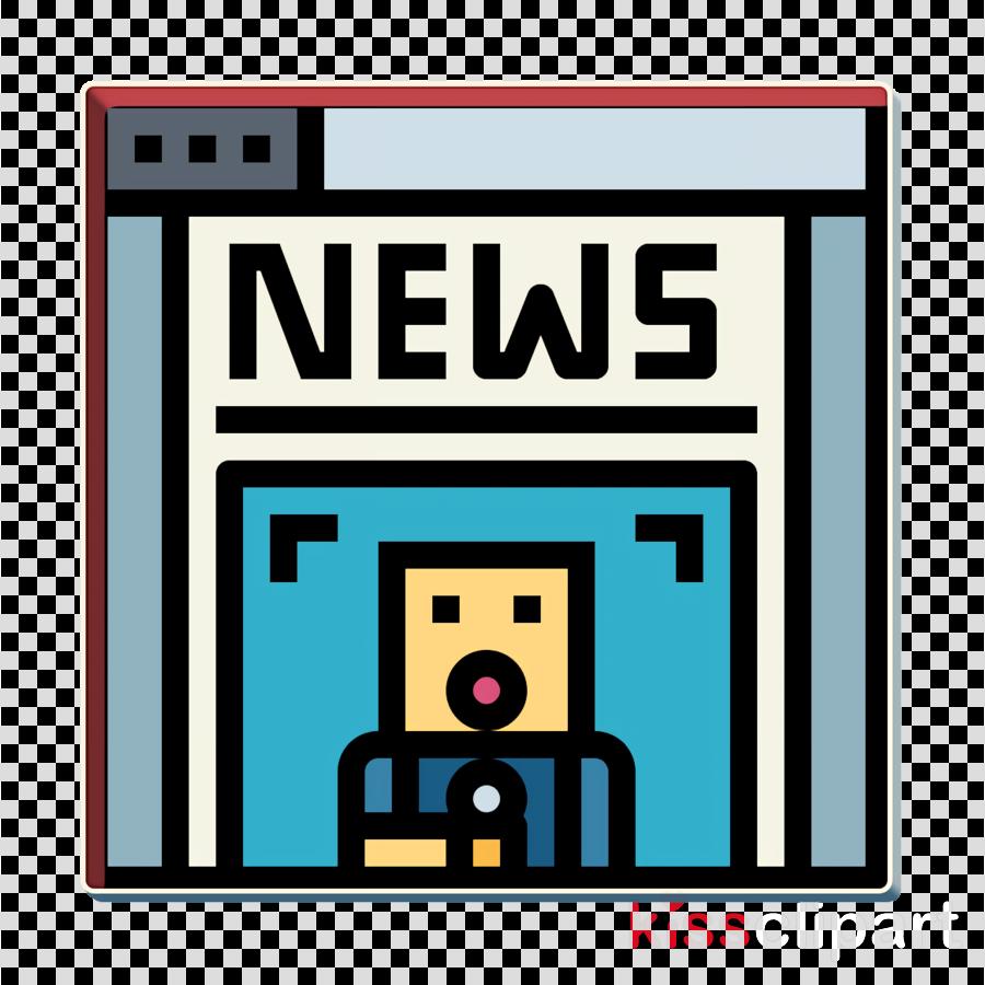 Newspaper icon Press icon News icon