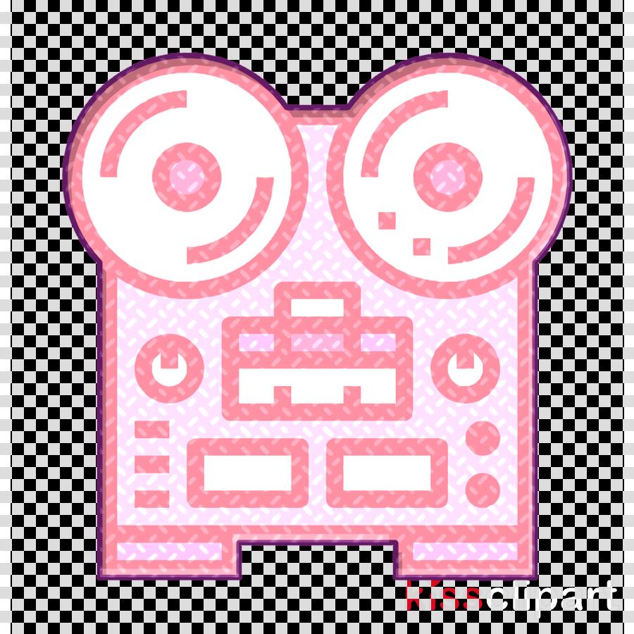 Newspaper icon Voice recording icon Recorder icon