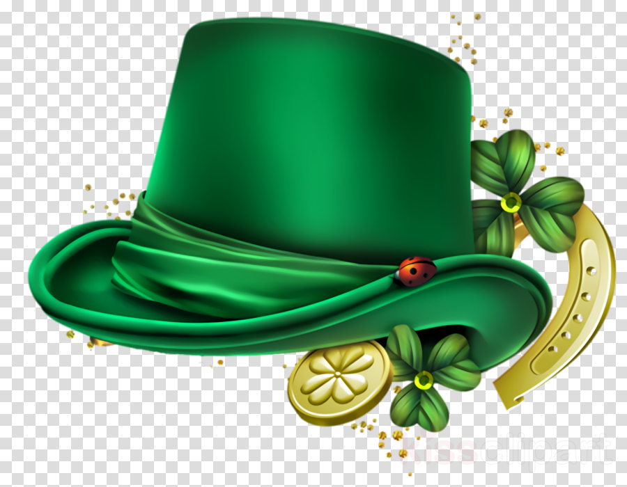 Top Hat Saint Patrick Saint Patrick S Day Clipart Green Costume