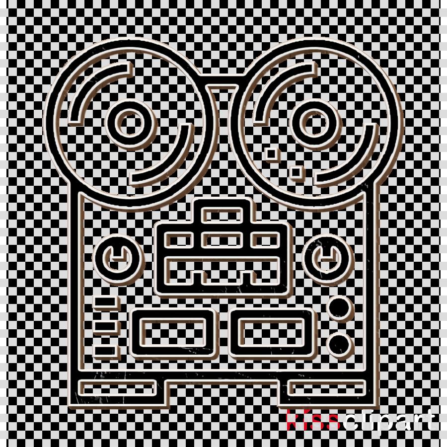 Recorder icon Voice recording icon Newspaper icon