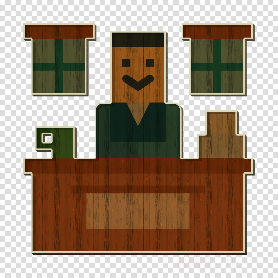 Newspaper icon Office icon Room icon