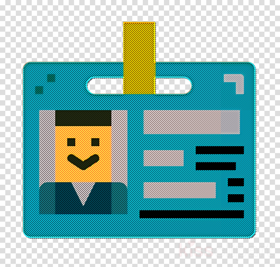 Id card icon Newspaper icon Professions and jobs icon