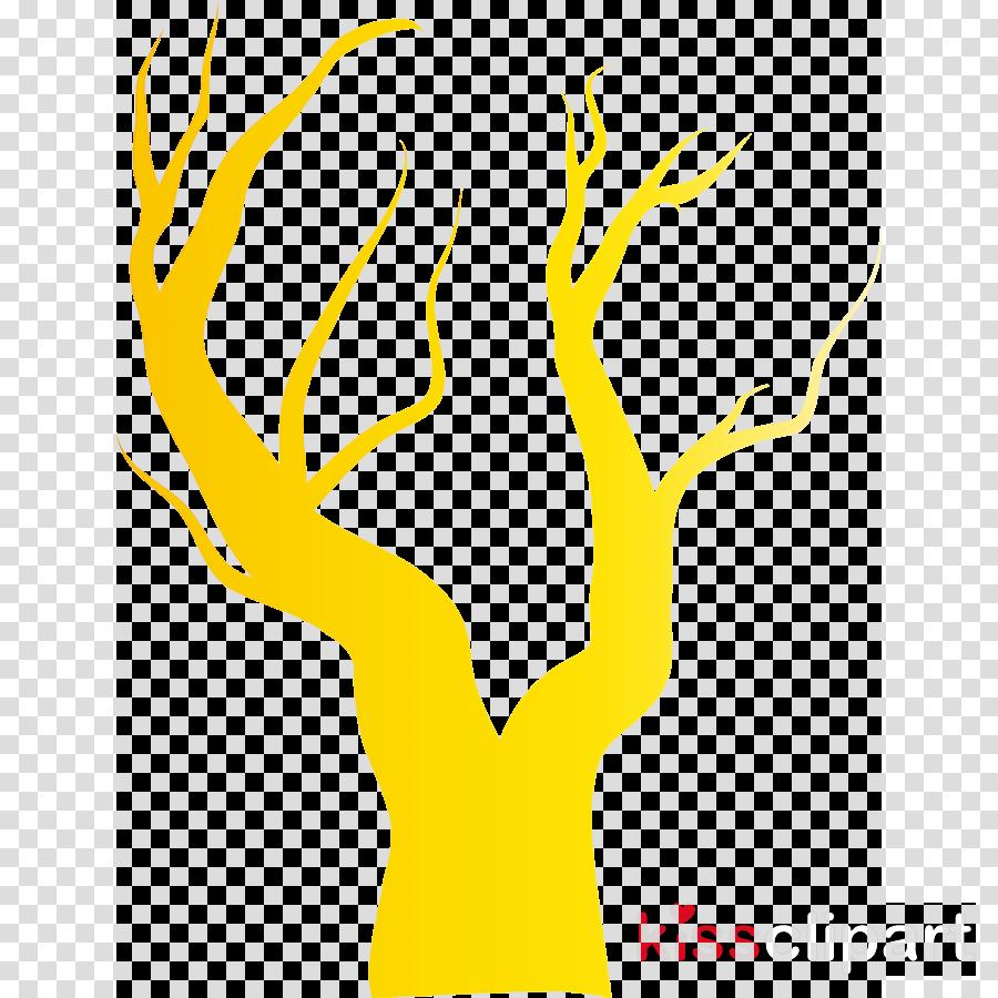 yellow line hand gesture logo