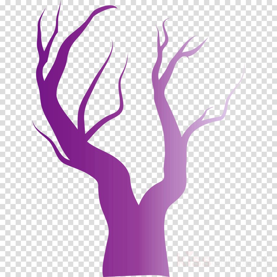 violet purple hand tree finger