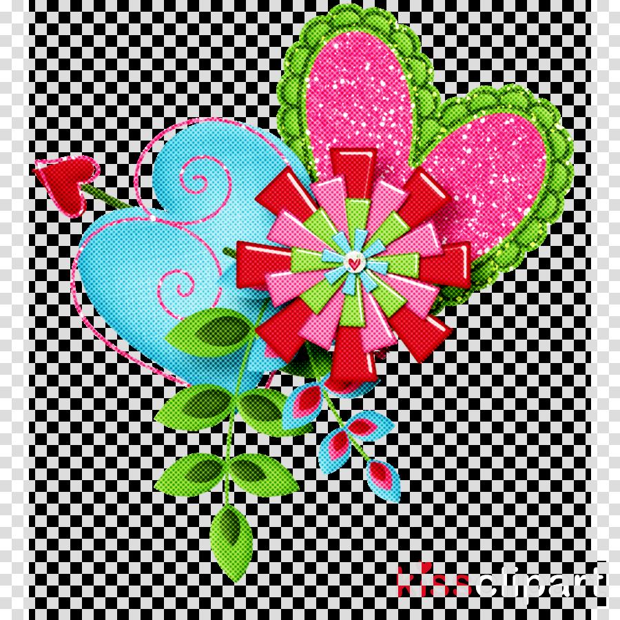 flower heart valentines day
