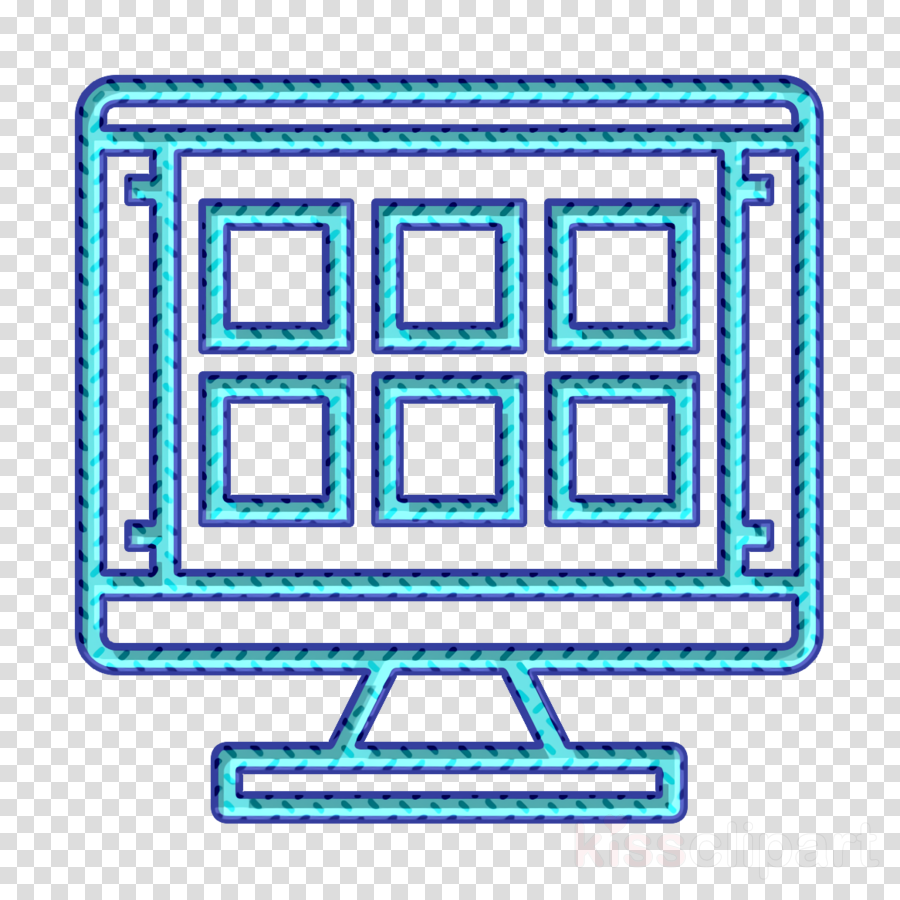 Grid icon Cartoonist icon